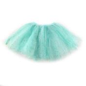 SK Studio Girl¡¯s Glitter Tutu 2 Layer Ballet Tulle Skirt