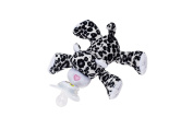 Nookums Paci-Plushies LEOPARD SNOWY - Universal Pacifier Holder