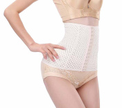 Women's Breathable Waist Cincher Girdle Belly Trainer Corset Body-Hugging Shapewear