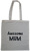 Awesome Mum Cotton Shopping Bag Ideal Gift for Mum's