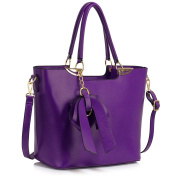 Ladies Fashion Patent Handbag With Bow Women's Chic High Quality Large Size Handbag Tote CWS00348
