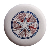 (Ship from USA) Discraft Ultra-Star Ultimate Frisbee 175 Gramme Championship Sportdiscs-White -ITEM#