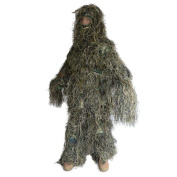 Hooded Ghillie Suit Camo Clothing