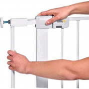 Refined Safety 1st 7cm Safety Gate Extension with accompanying Set of 10 KiddiSafe Door Stoppers