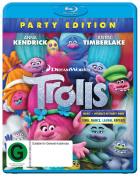 Trolls Blu-ray  [Region B] [Blu-ray]