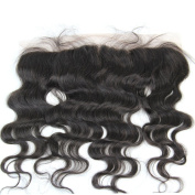 Full Shine Body Wave 30cm 13*4 Lace Frontal Free Part with Bady Hair Natural Black Brazilian Hair