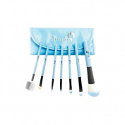 London Pride Make-Up Brush Set, Blue , 7-Piece