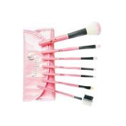 London Pride Make-Up Brush Set, Pink, 7-Piece