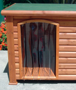 Precision Pet 37cm by 25cm Outback Dog House Door, Small
