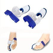Itian One Pair of Bunion Relief & Bunion Corrector kit for Hallux Valgus & Bunion Surgery, Toe Spacers, Toe Separators, Bunion Splint, Toe Straightener Corrector, Bunion Protector, Bunion Cushions