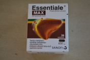 Original Essentiale Forte MAX 30 CAPS - Double Strength 600 mg for Liver by Essentiale MAX