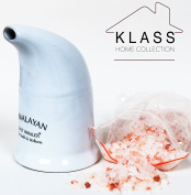 Original Himalayan Salt Pipe Ceramic filled with 100% Pure Himalayan salt - with hygenic dust cap by Klass Home Collection®