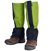 AMYIPO Unisex Snow Leg Gaiter Hiking Boots Gaiters Waterproof Draw String Gaiters