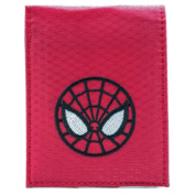 Ultimate Spider-Man Face Mask Red Coin & Card Bi-Fold Wallet