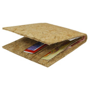 Willy's Manufaktur Wallet, light brown (brown) - High quality handmade from cork