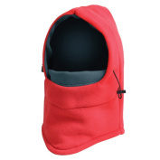 Johnnyhh Outdoor Cycling, Camping, Windproof Thickening Warm Mask, Fleece, For Men and Women