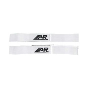 A & R Hockey Shin Straps Heavy Woven Elastic Colour Coded For Easy Use