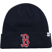 MLB Officially Licenced Boston 47 Brand Cuffed Logo Beanie Hat Cap Lid Skull