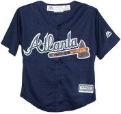 Atlanta Braves Alternate Navy Cool Base Toddler Jersey