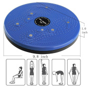 Twisting Waist Disc Bodytwister Ankle Body Aerobic Exercise Foot Exercise Fitness Twister Figure Trimmer Magnet Balance Rotating Board chengsi nyp01