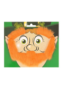 Beard Eyebrows & Sideburns Leprechaun Set
