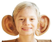 World Book Day-School Plays-Roald Dahl Day-Character-Friendly Giant BIG EARS ON HEADBAND One Size