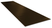 TENEX CORPORATION - Ribbed Stair Tread, Brown, 22cm x 60cm .