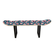 Skate Board Stool small roses by Skate Home, Gift Idea for teenagers, Digital print HD