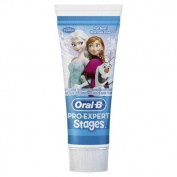 Oral-B Disney Frozen Pro-Expert Stages Kids Toothpaste, 75 ml, Pack of 6