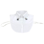 . Clothing Accessories Womens Shirt Collar Detachable Neckband False Collar #20