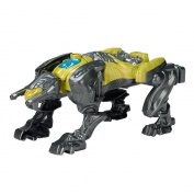 Power Rangers 42563 Movie Sabretooth Battle Zord with Yellow Ranger