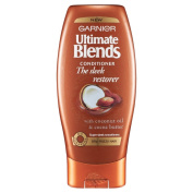 Garnier Ultimate Blends Sleek Restorer Conditioner 200ml Pack of 6