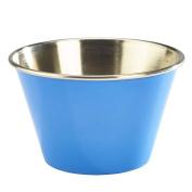 Blue Stainless Steel Ramekins 6oz / 170ml - Set of 6 - Genware Serving Ramekins