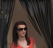 Caravan/RV Door Curtain,Bug Blind,Fly Blind,Strip Blind-'ALL BLACK'