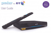 BT Ultra HD YouView Box UHD DTR-T4000/1TB with Twin HD Freeview and 7 Day Catch Up TV