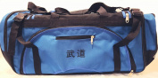 Martial arts bag with Mesh, Boxing MMA Deluxe Equipment Bag, TKD Bag, Karate Bag Red or Blue 33cm x 70cm x 36cm