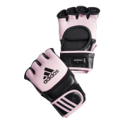 adidas MMA Leather Gloves Pink