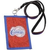 NBA Beaded Lanyard with Nylon Wallet