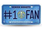 NBA #1 Fan Metal Tag Licence Plate
