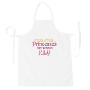 Princesses are born in July Novelty Apron s95b