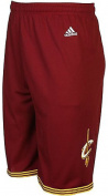 Cleveland Cavaliers Wine Youth 20cm Inseam NBA Replica Basketball Shorts By Adidas