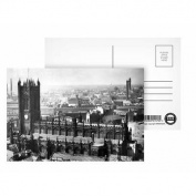 Manchester Cathedral - Postcard (Pack of 8) - 15cm x 10cm - Art247 Highest Quality - Standard Size - Pack Of 8