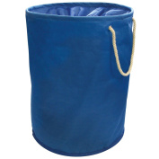 Blue Pop Up Laundry Hamper Storage Washing Bag With Carry Handles 35cm x 48cm by Country Club