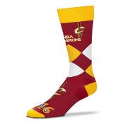 Cleveland Cavaliers 2016 NBA Champions Men's Argyle Dress Socks