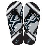 San Antoinio Spurs NBA Team Big Logo Unisex Flip Flop Beach Sandals