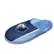 NBA Mens MEMPHIS GRIZZLIES Lounge Slippers with Embroidered Logo