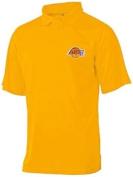 Los Angeles Lakers Moist Management Birdseye Mens Polo Shirt Big & Tall Sizes
