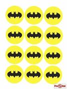 40 x Pre Cut Batman Logo Cake, Cupcake Toppers/Decorations Edible Wafer Paper