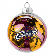 NBA Cleveland Cavaliers NBA Large Tinsel Ball Ornament