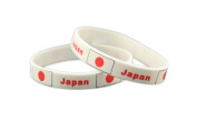 Forest Country Flag Unisex Silicone Bracelet Rubber Sports Fashion Wristband
